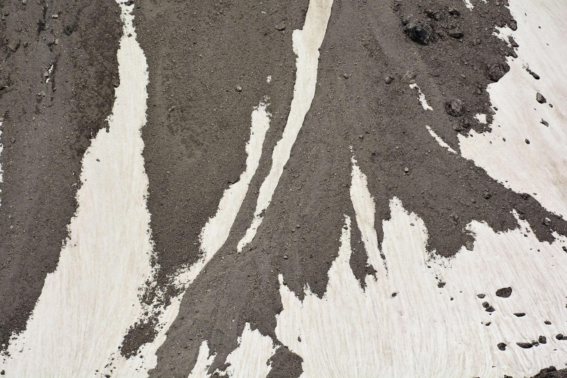 Abstraktion in den Bergen